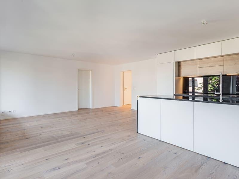 Erstbezug: Renovierte Wohnung nahe Erholungsgebiet / First move-in after renovation near recreational area