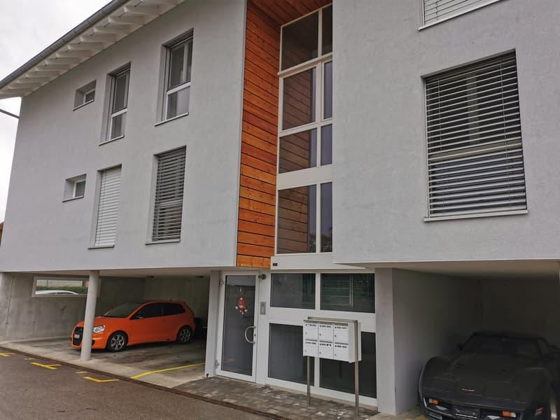 Suchy sur Yverdon, grand appartement en duplex, lumineux dans petit immeuble