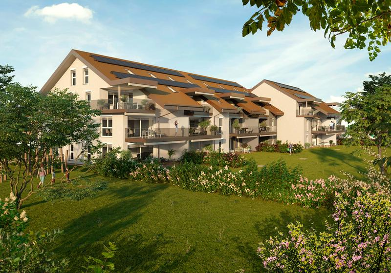 """Magnifiques Appartements de 2 à 5,5 pièces pour Juin 2021- PPE """"Les Terreaux ABC"""" (1)"""