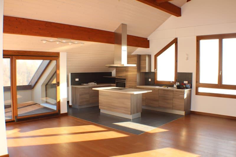 Spacieux duplex de 4,5 pièces en attique avec vue sur le lac / 160 m2 (1)