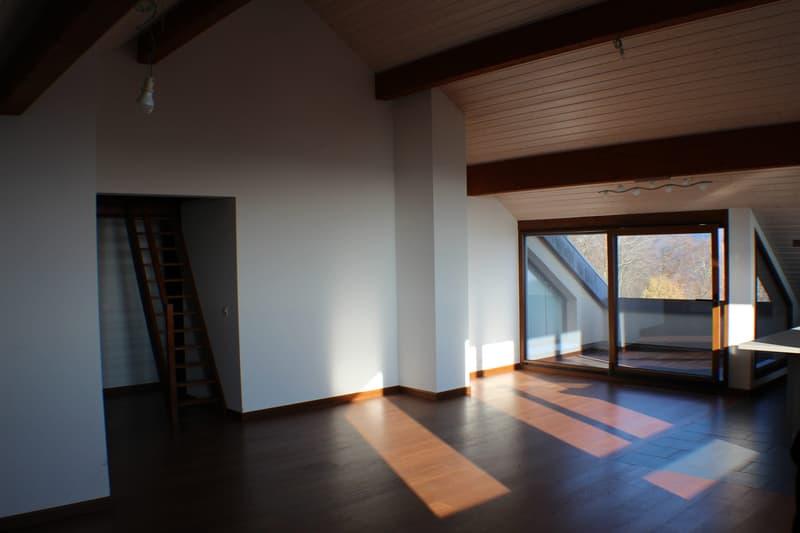 Spacieux duplex de 4,5 pièces en attique avec vue sur le lac / 160 m2 (4)