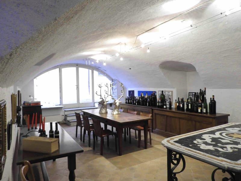 Superficie Commerciale nel nucleo storico di Ascona