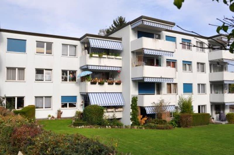 Schöne renovierte 4.5 ZWG mit grossem Balkon und Sicht ins Grüne