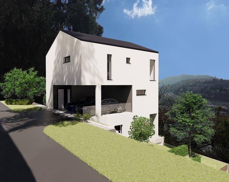Vacallo: villa singola