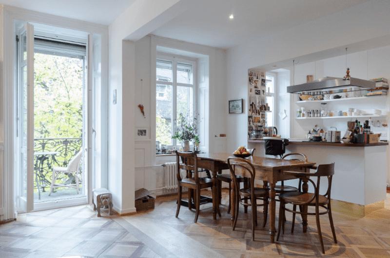 4.5 Zi Wohnung in Zürich Kreis 1 Altstadt, möbliert, temporär, inkl Parkplatz