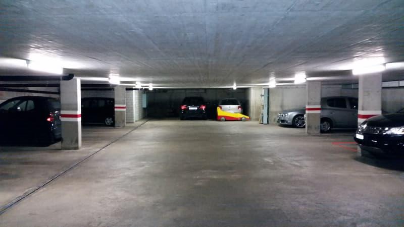 Zentraler Einstellhallenparkplatz (untere Altstadt)