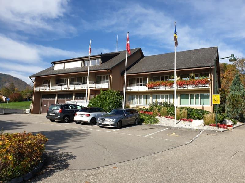 Schöne 2 Zimmer-Wohnung im Gebäude der Gemeindeverwaltung