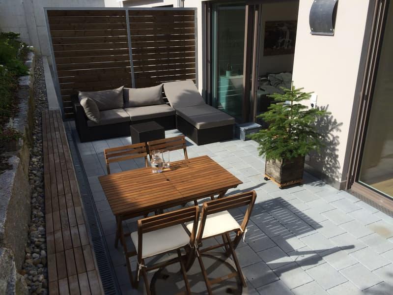Schöne 2.5-Zimmerwohnung mit grossem Gartensitzplatz in Malters zu vermieten