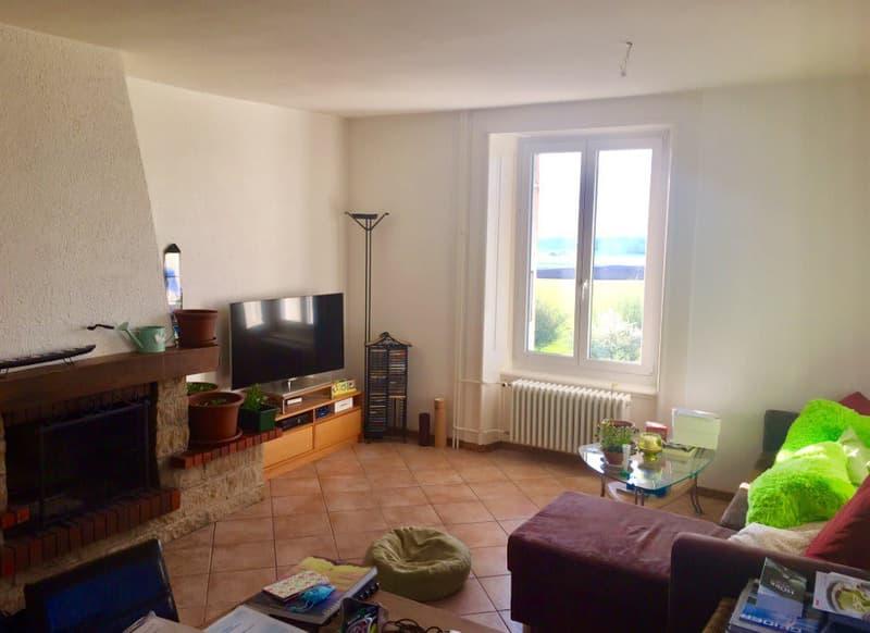 Bel appartement de 4 1/2 pièces avec dégagement sur le Val-de-Ruz