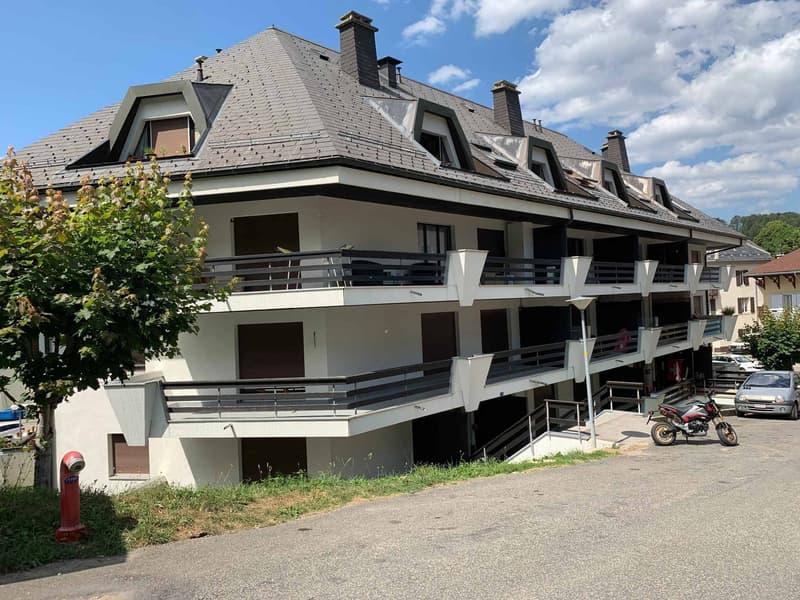 Au centre du village - Joli appartement de 3,5 pièces d'env. 65 m2 au rez avec grand balcon