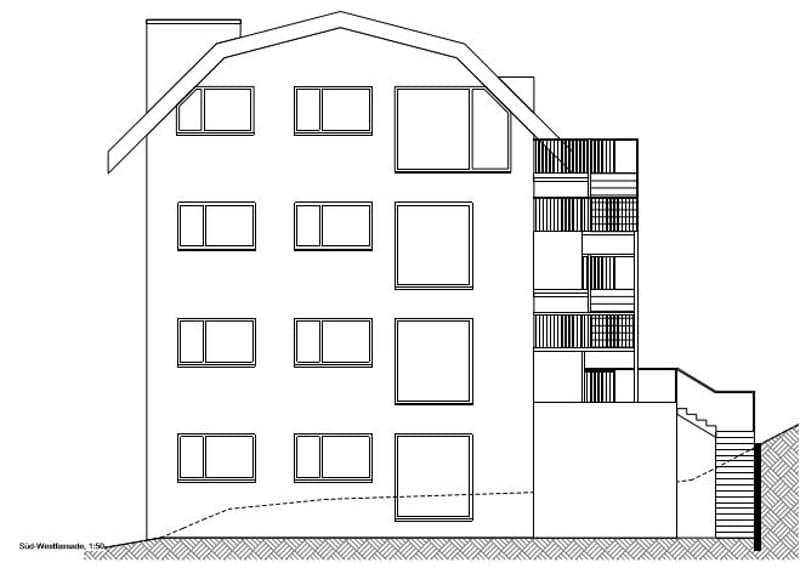 ''MHF mit 4 gleich grosse Wohnungen & je 2 Tiefgaragenplätze in Sirnach''