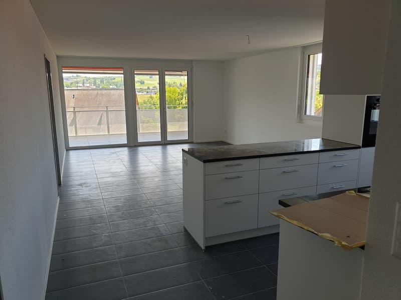 Neubau 4,5 Zimmer Wohnung in ländlicher Gegend (4)