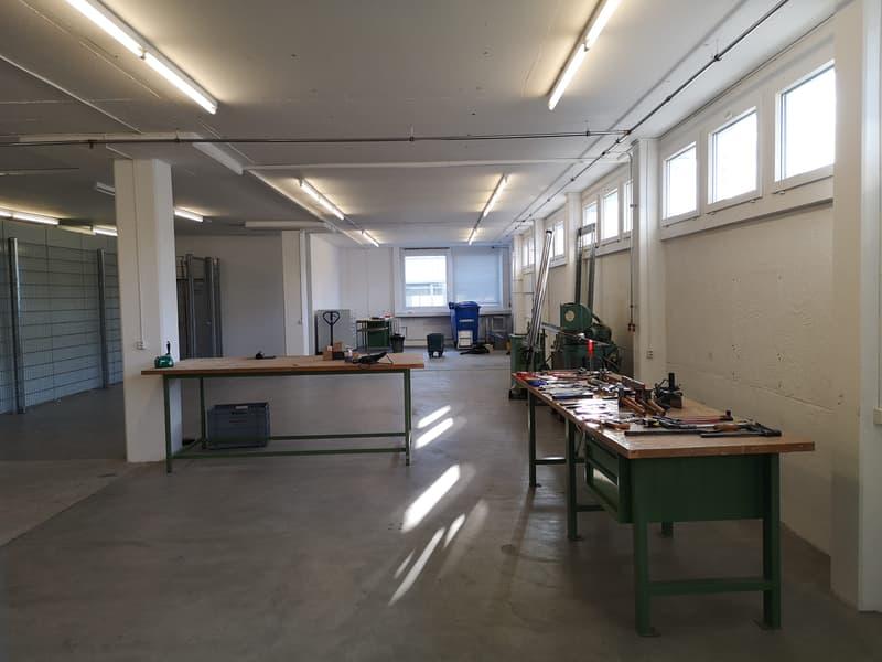 Gewerbe- und Lagerräumlichkeiten (151 m²)