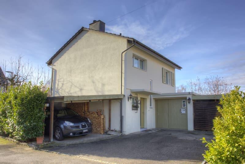 Gemütliches 4.5-Zimmer-Einfamilienhaus mit Garage und Carport