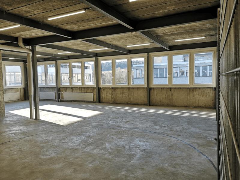 Gewerbe- und Lagerräumlichkeiten (131 m²)