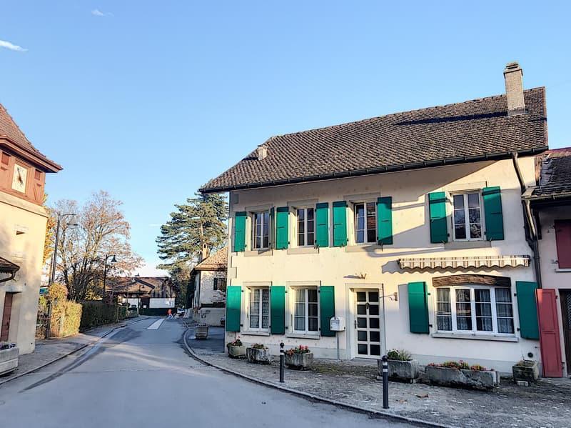 Belle maison de village rénovée avec 2 places de parc