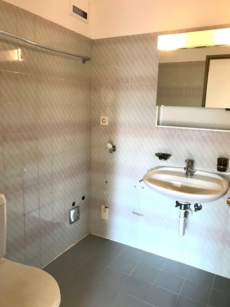 Bel appartement 2.5 pièces avec grand balcon - proche des transports publics