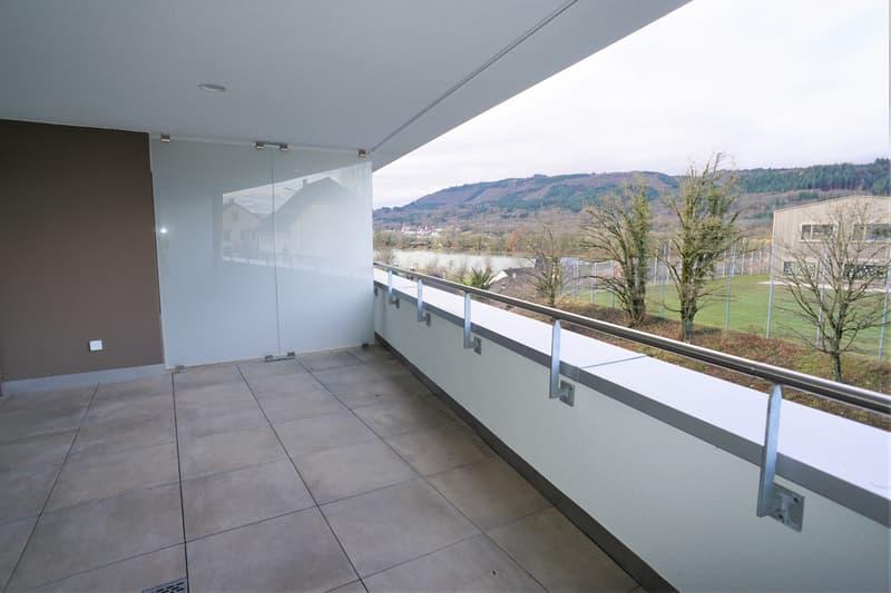 Neubauwohnung im Eigentumsstandard mit Rheinblick in Sisseln