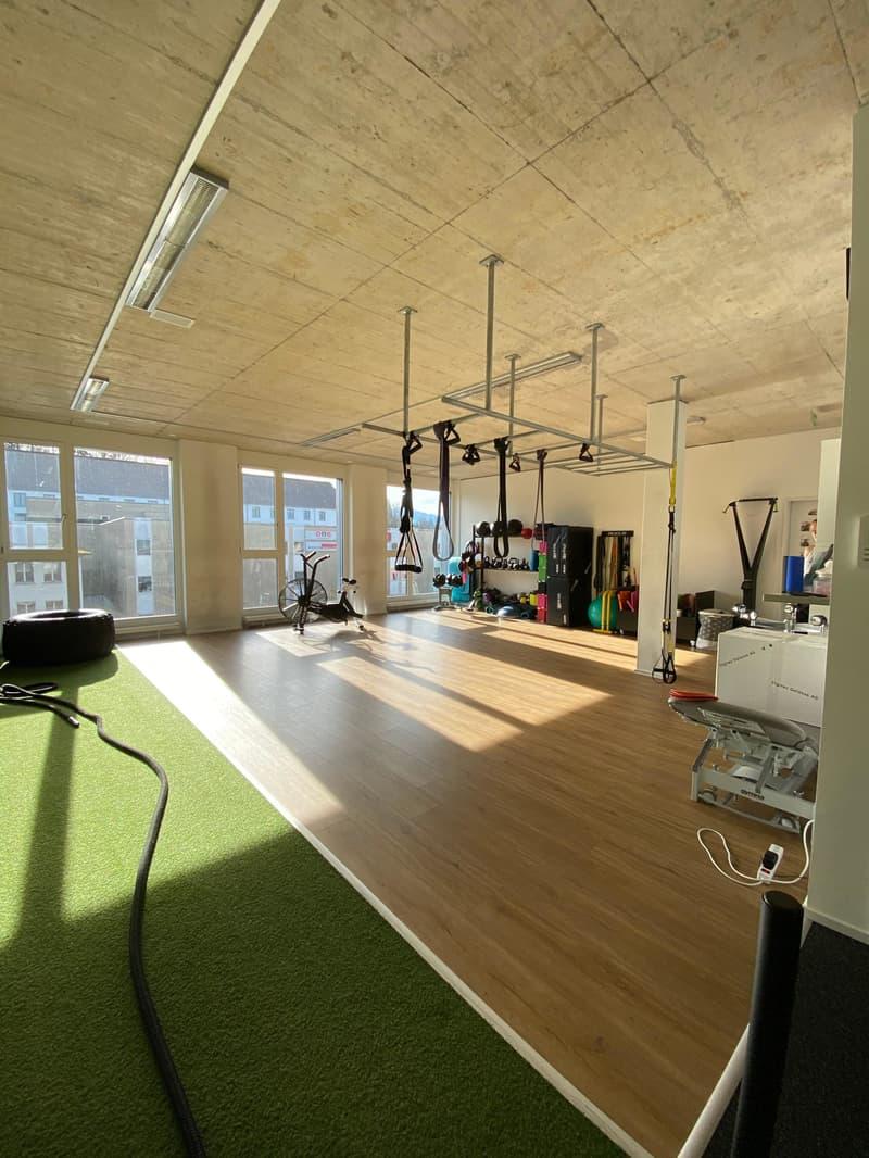 Teil 1 des Raumes, Büro, Praxis, Gruppenlektion