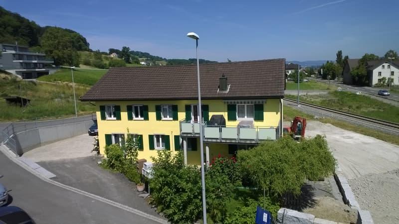 Schöne renovierte 3.5 Zimmerwohnung mit Hallwilerseeblick (2)