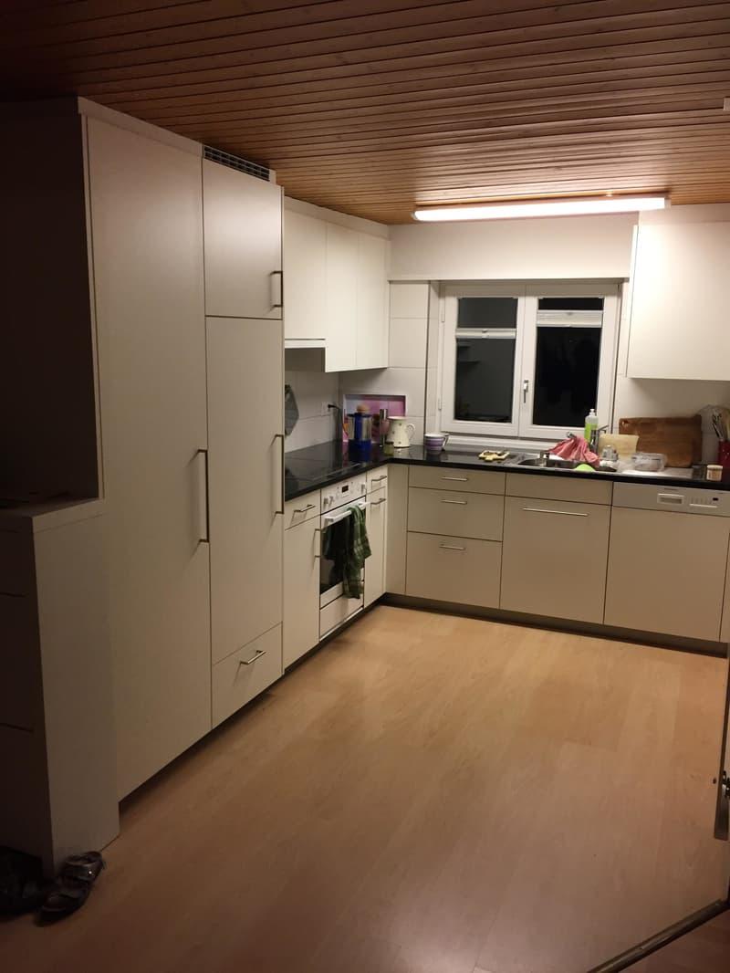 Schöne renovierte 3.5 Zimmerwohnung mit Hallwilerseeblick (3)