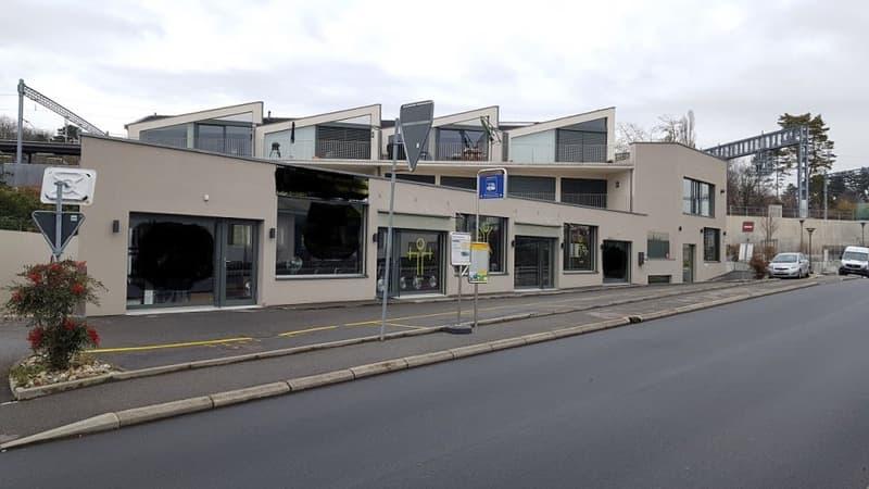 Mies : Local commercial - bien situé à côté de la gare de Mies