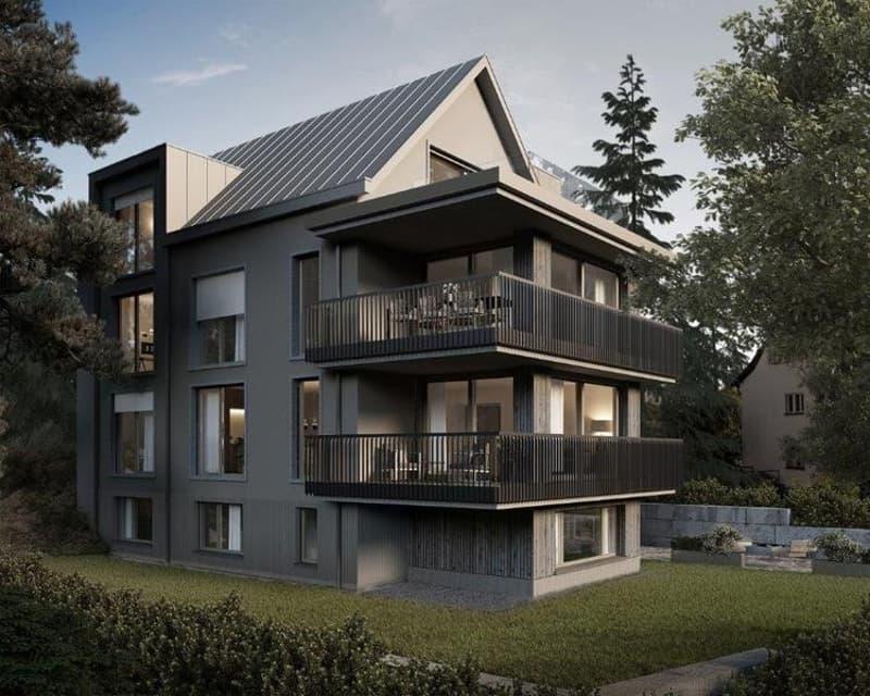 Neubauprojekt: Gartenmaisonette am Zürichberg