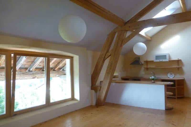 Très beau et grand loft