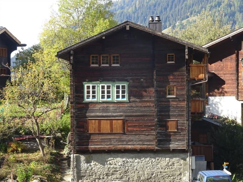 Walliser Haus 1705