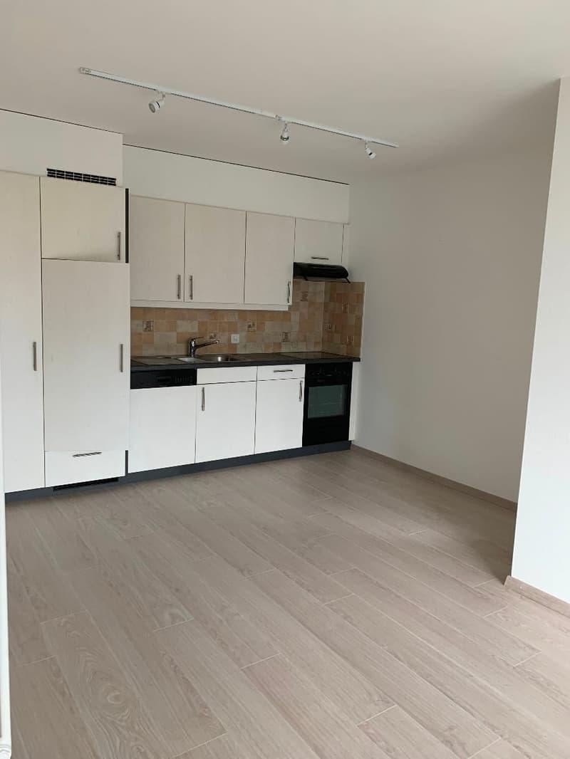 Corseaux - appartement rénové de 2 pièces au rez-chaussée