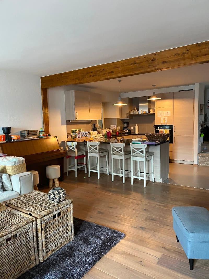 Saint-Légier, appartement de 4.5 pièces en duplex avec terrasse et