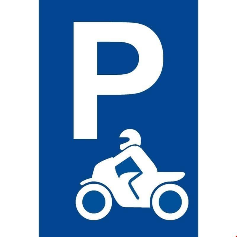 Motorradparkplätze im Riethüsli-Quartier, St.Gallen
