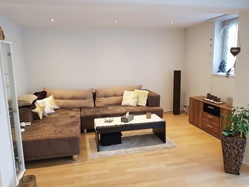 grosse, moderne 3,5-Zimmer Wohnung im ruhigen Dorfkern