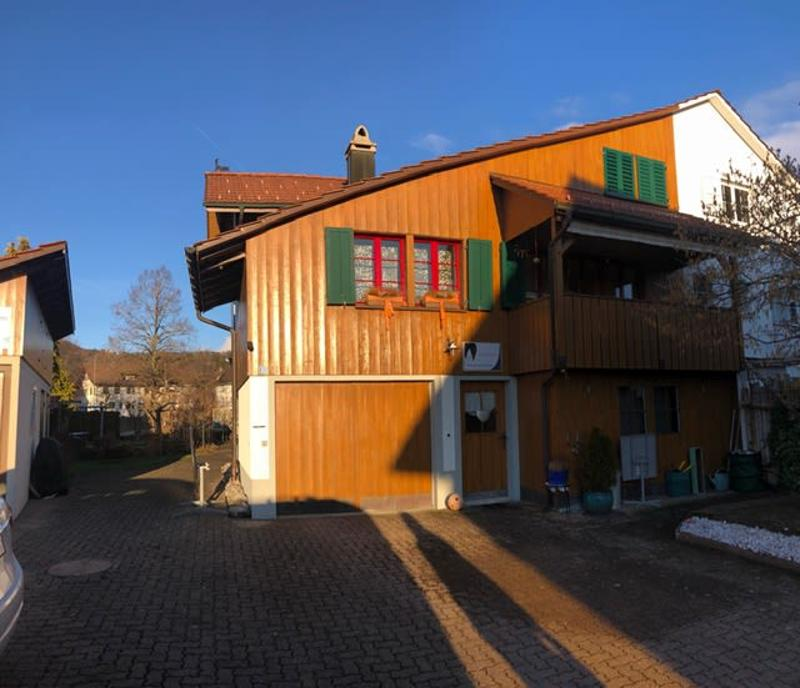 Wohlfühloase im Dorfzentrum von Bäretswil!