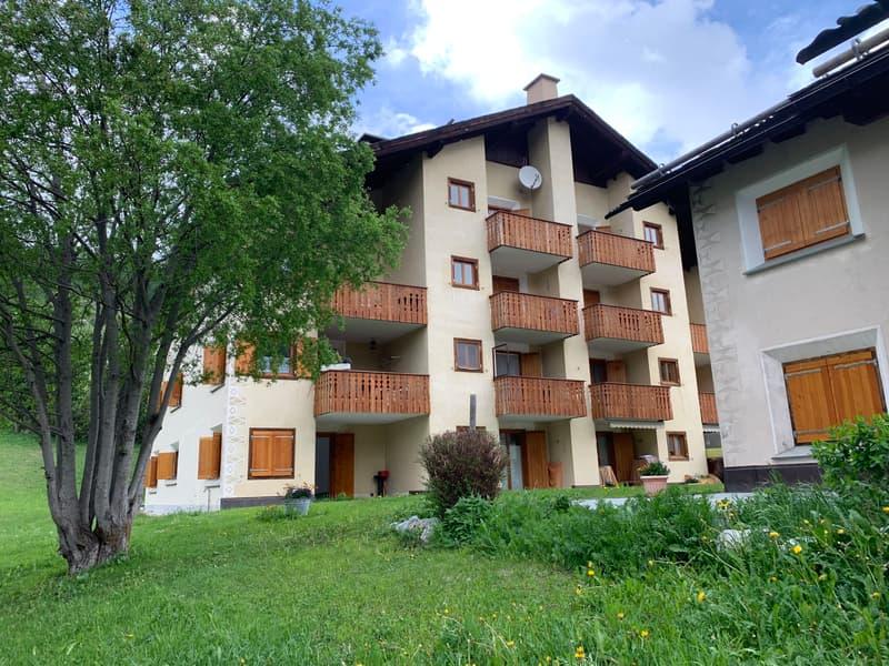 Renovierte und lichtvolle 3.5-Zimmerwohnung im Erdgeschoss / Rinnovato e luminoso 3.5 locali al PT