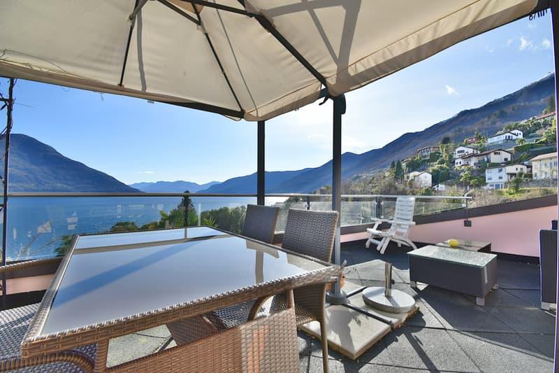 Brissago - Appartamento di 4,5 locali con vista lago (1427-003)
