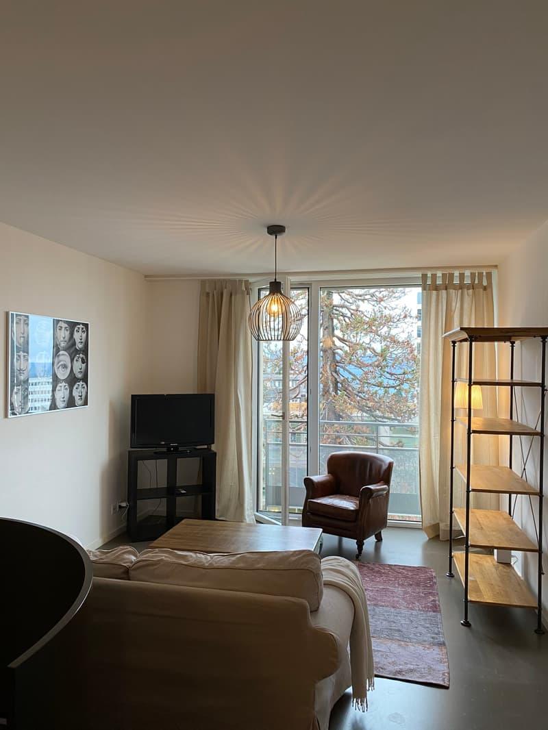 A louer - Appartement meublé de 2,5 pièces en duplex à Lausanne