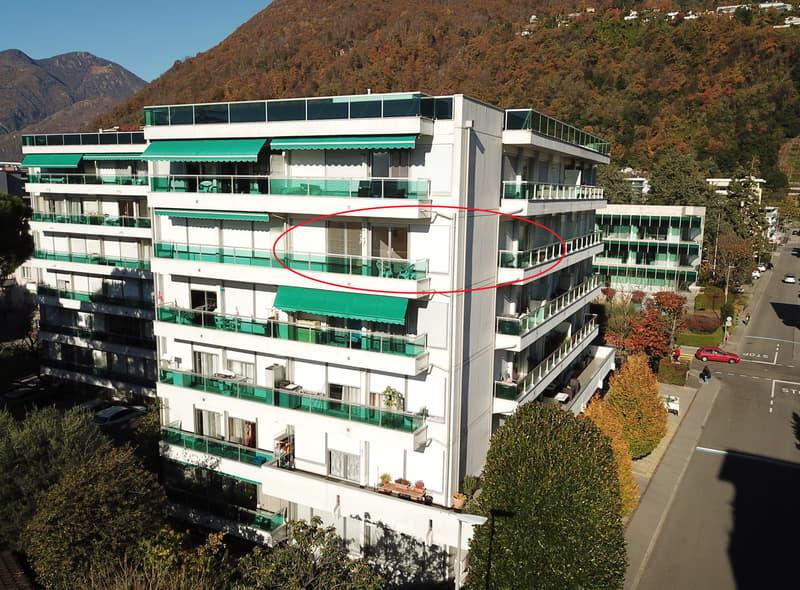 Locarno - Luminoso appart. di 3 locali - m2 63 (102-21)