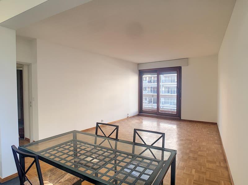 Champel - Beau 2.5 pièces avec grand balcon, 1 chambre