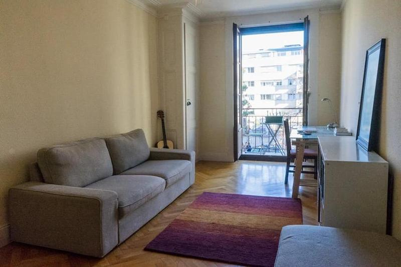 URGENT REPRISE DE BAIL: Appartment near PlainPalais and HUG available from March 1st.