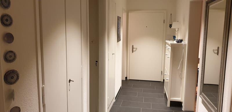 sonnige, zentral gelegene, möblierte Wohnung für bis 6 Monate unterzuvermieten