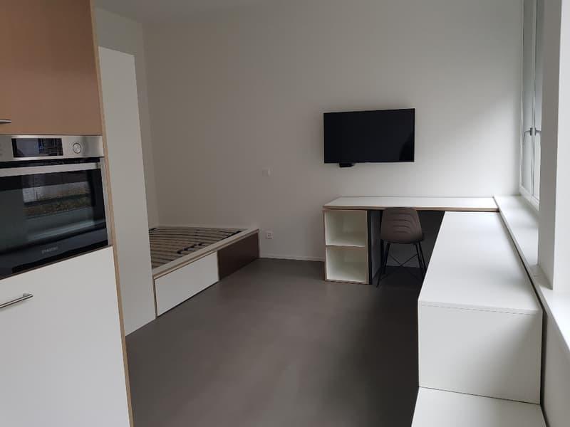Möblierte und zentral gelegene 1.5-Zimmerwohnung