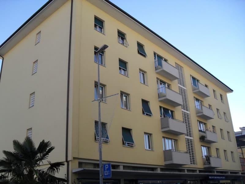 Monolocale parzialmente ristrutturato a Locarno