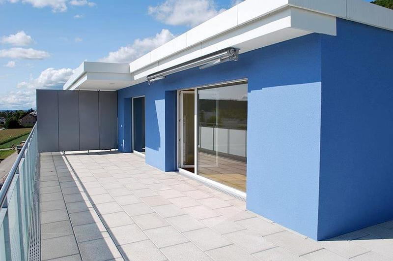 3½ Zi.-Attikawohnung mit schöner Weitsicht und grosser Terrasse