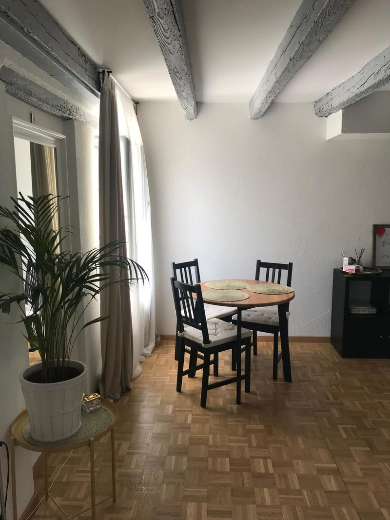 Sympathique appartement de 2 1/2 pièces et kitchenette - Repris du bail