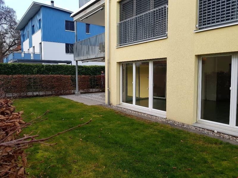 4.5-Zimmerwohnung mit eigener Terrasse und Garten
