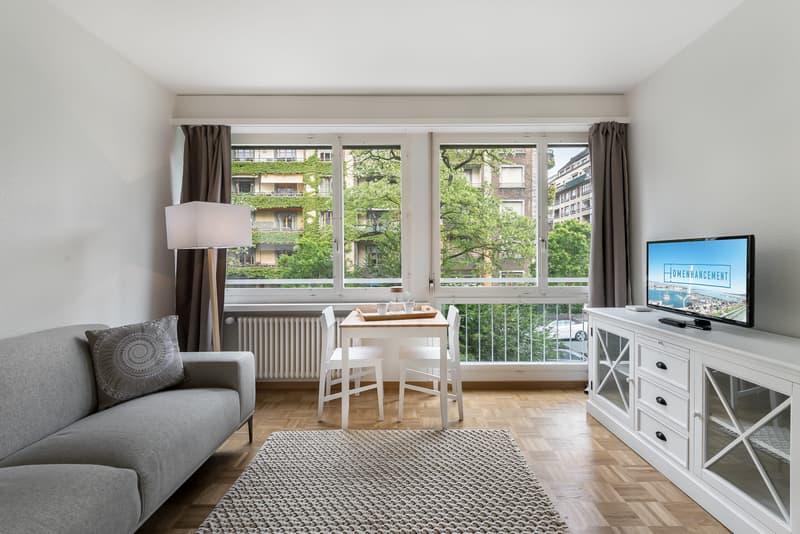 Studio meublé et rénové proche du Parc Bertrand