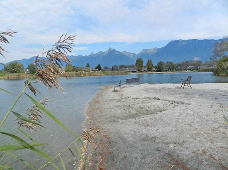 Attique-duplex de 4.5p avec vue sur le lac….