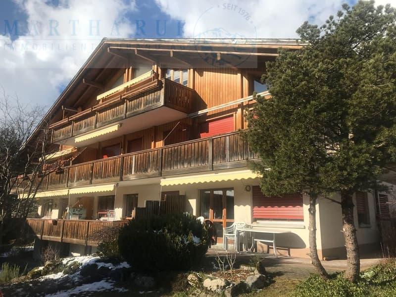 sonnige 2.5-Zimmer Wohnung mit Sicht in die Berge