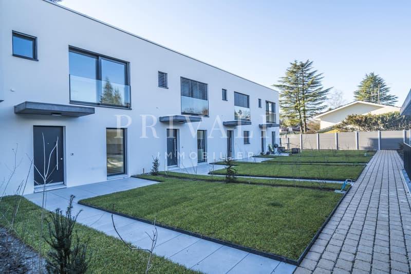 Vandoeuvres : Superbe villa contiguë neuve de standing